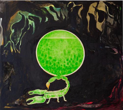 Portal3, 2021, Oil and Acrylic on Canvas, 170x190 cm