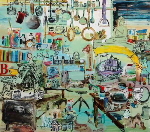 Oil-on-canvas-140x150cm