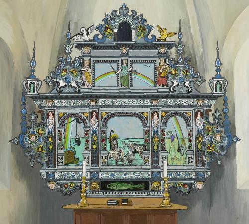 2 Skitse-forslag-til-Skjern-kirke-2008