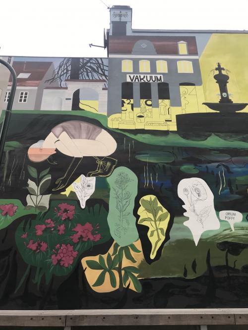 Mural 2019 34m. Algade 27 Roskilde DK-detail...