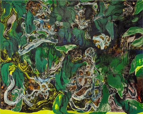 Wilderness, 2021, Oil and Acrylic on Canvas, 200x250 cm-
