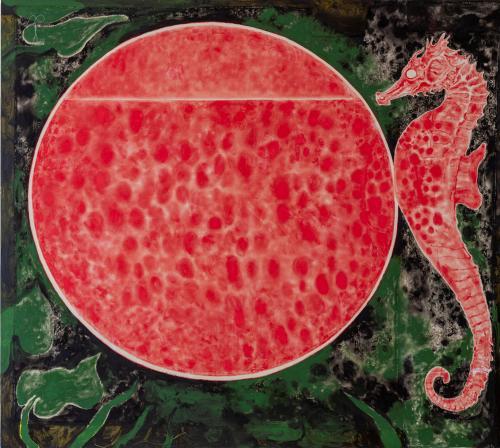 Portal4, 2021, Oil and Acrylic on Canvas, 170x190 cm