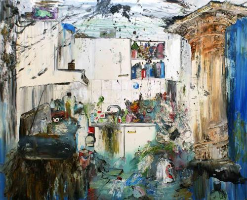 Oil-on-canvas
