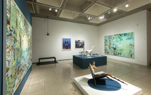 01 installation-view Overtryk with Louise Hindsgavl