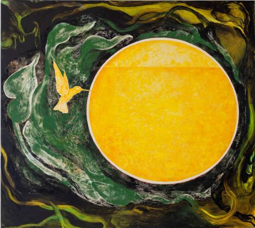 Portal2, 2021, Oil and Acrylic on Canvas, 170x190 cm