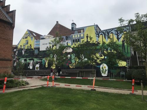 Mural 2019 34m. Algade 27 Roskilde DK